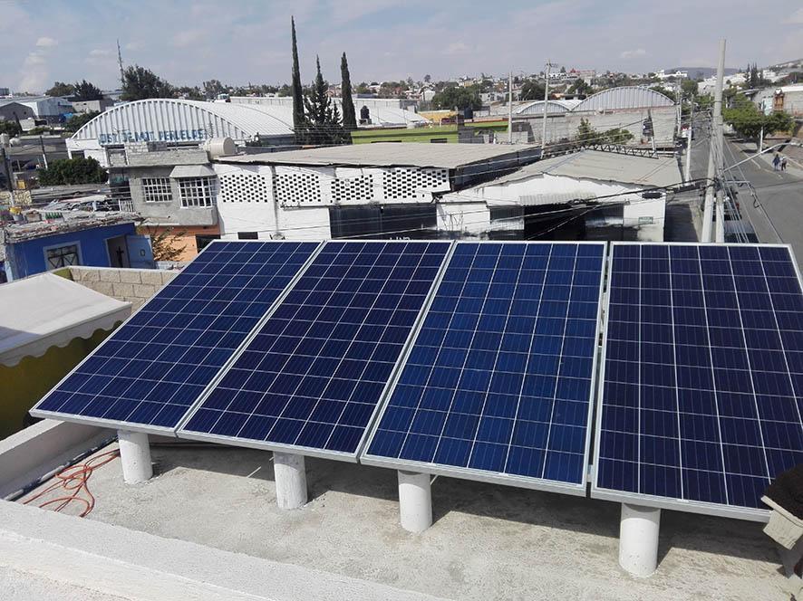 paneles solares en queretaro - gastar menos luz en una tortillería