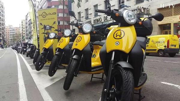 Alquiler de motos eléctricas