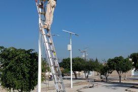 postes solares en queretaro