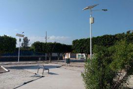 postes solares en queretaro - Iluminación solar para fraccionamientos