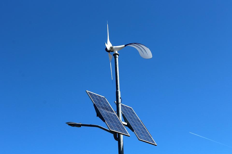 Autoconsumo eléctrico -Postes solares