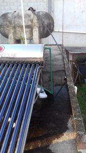Instalación de calentadores solares en Queretaro - 1