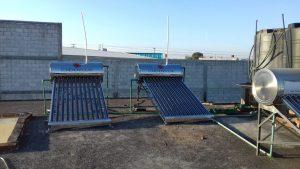 Instalación de calentadores solares en Queretaro - 2